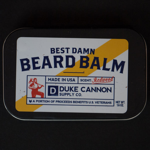 Duke Cannon Best Damn Beard Balm at The Lodge