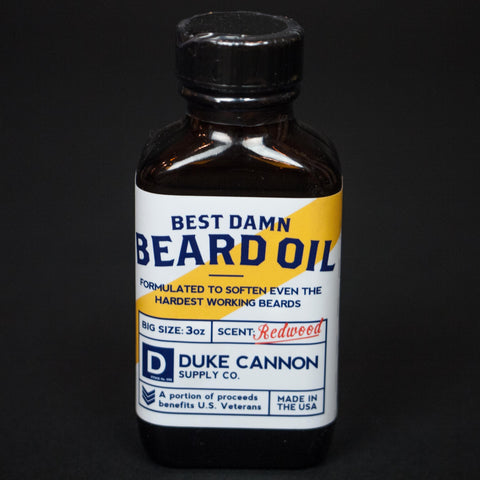 Duke Cannon Best Damn Beard Oil at The Lodge