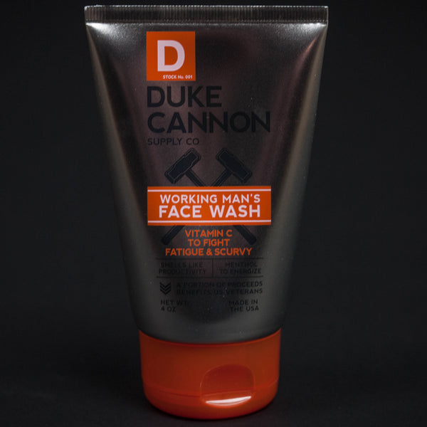 DUKE CANNON WORKING MAN'S FACE WASH - THE LODGE  - 1