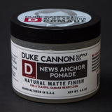 Duke Cannon News Anchor Pomade at The Lodge