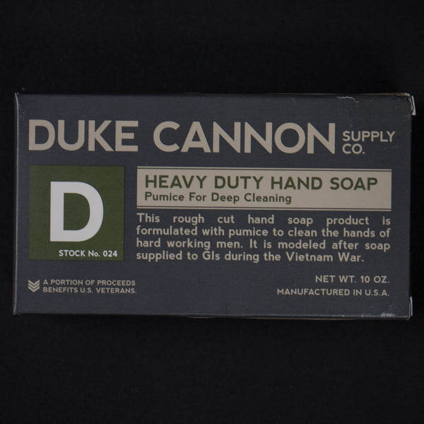Duke Cannon Pumice Soap at The Lodge