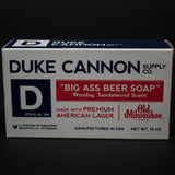 Duke Cannon Big Ass Beer Soap at The Lodge
