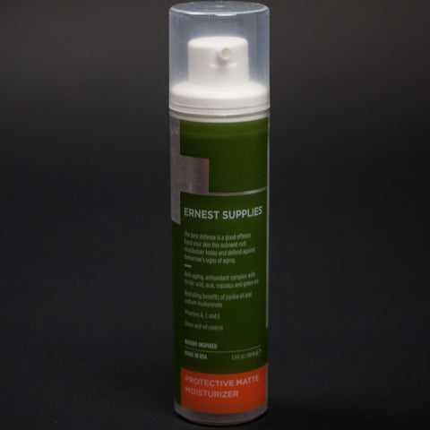 Ernest Supplies Matte Moisturizer Tube at The Lodge
