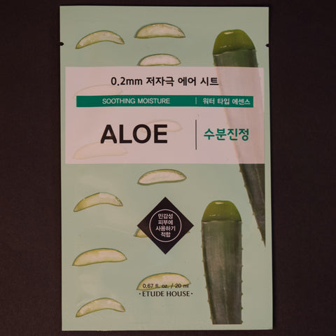 Etude House Aloe Sheet Mask at The Lodge