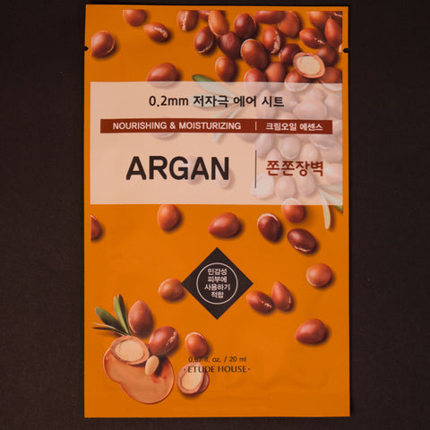 Etude House Argan Sheet Mask at The Lodge