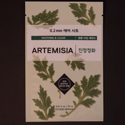 Etude House Artemsia Sheet Mask at The Lodge