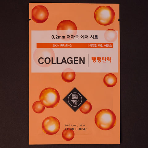 Etude House Collagen Sheet Mask at The Lodge