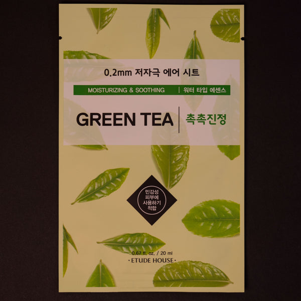 Etude House Green Tea Sheet Mask at The Lodge