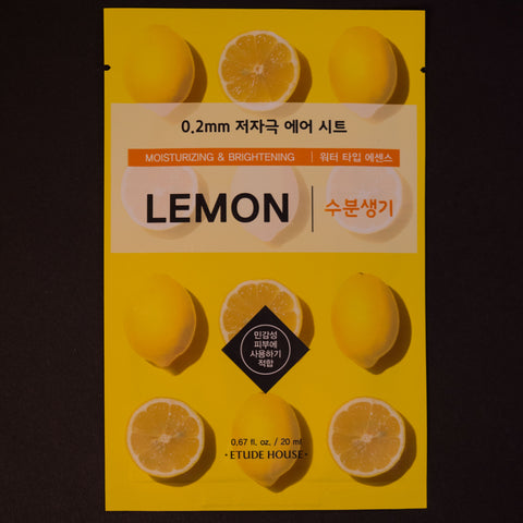 Etude House Lemon Sheet Mask at The Lodge