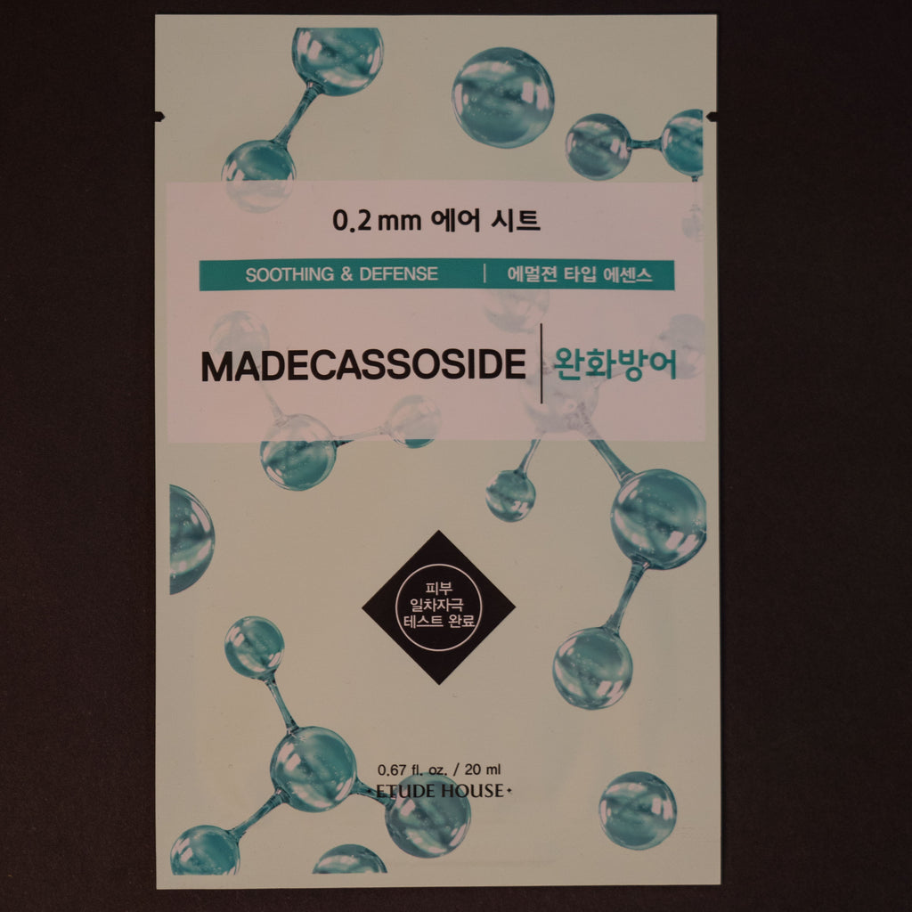 Etude House Madecassoside Sheet Mask at The Lodge