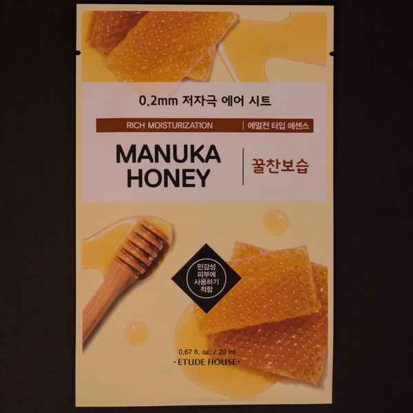 Etude House Manuka Honey Sheet Mask at The Lodge