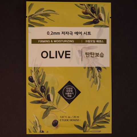 Etude House Olive Sheet Mask at The Lodge