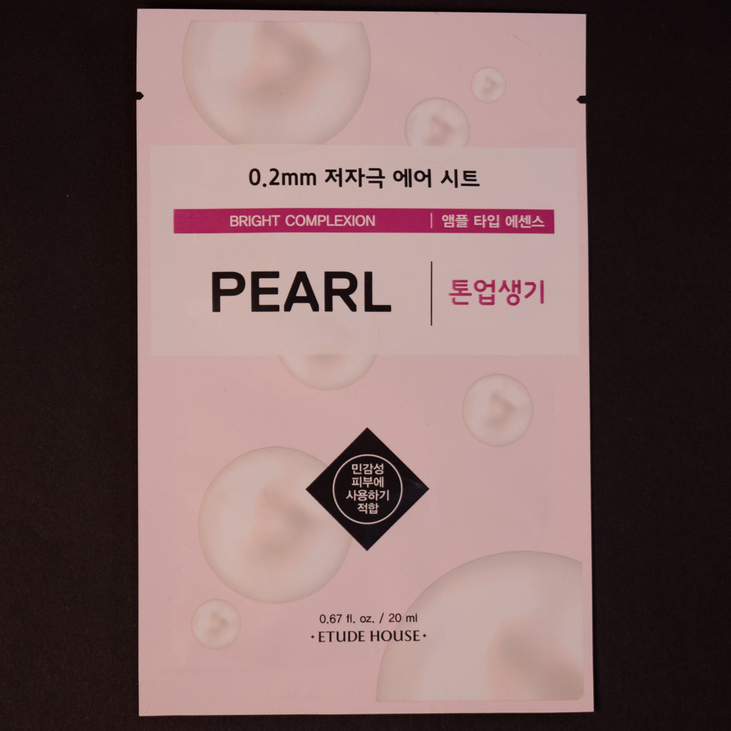 Etude House Pearl Sheet Mask at The Lodge