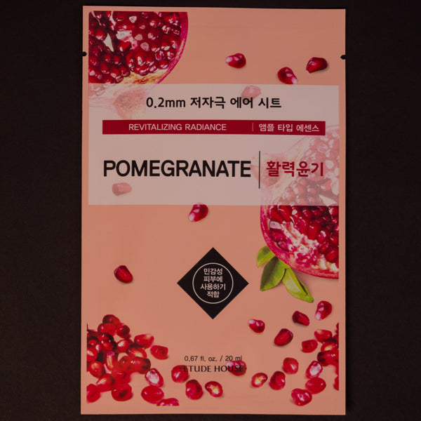 Etude House Pomegranate Sheet Mask at The Lodge