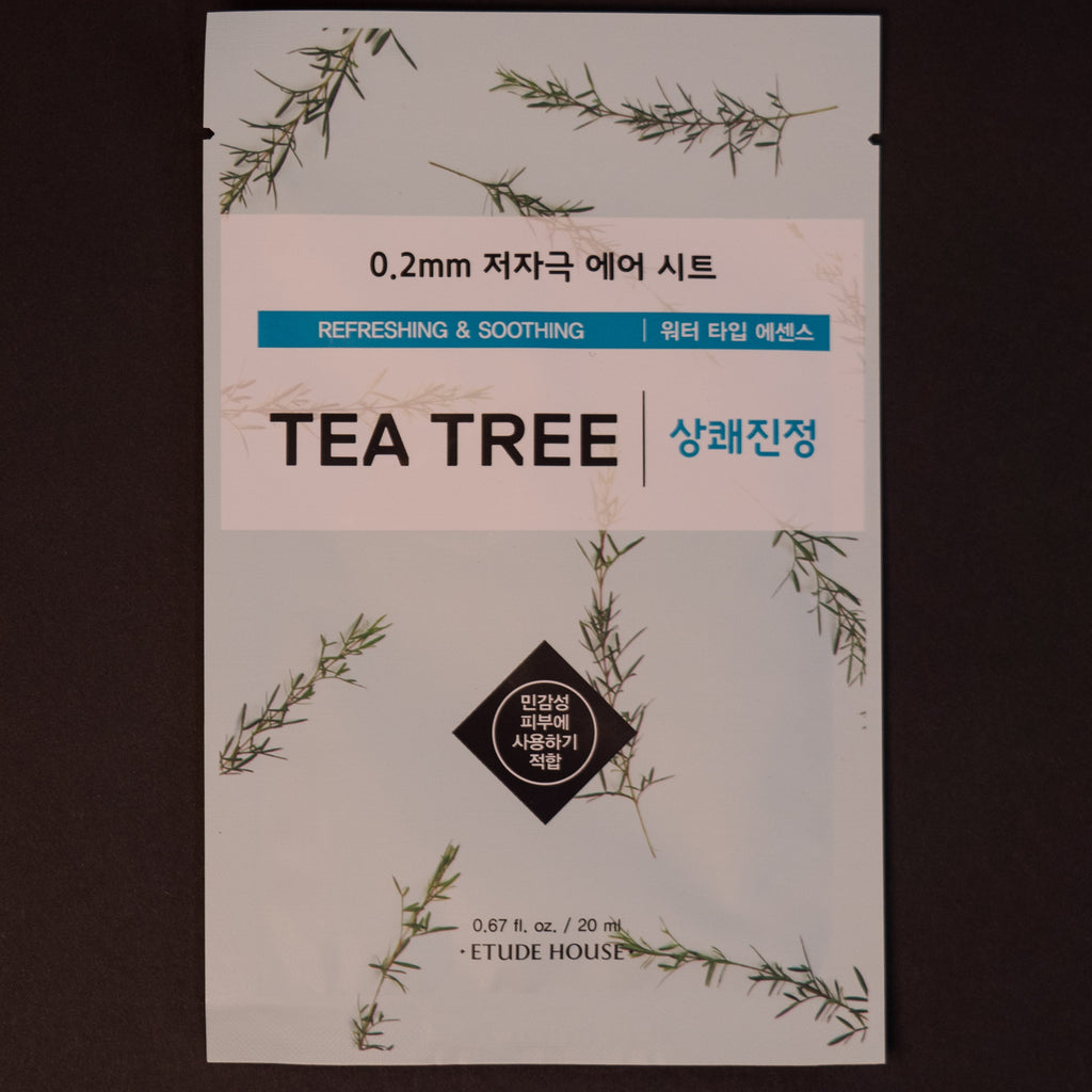 Etude House Tea Tree Sheet Mask at The Lodge