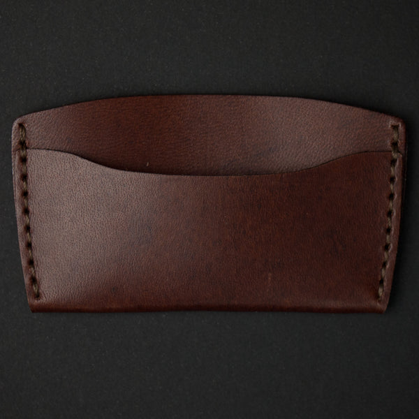 Ezra Arthur Brown #3 Slim Card Wallet at The Lodge
