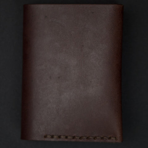 Ezra Arthur Brown Leather #4 Bi-Fold Card Wallet at The Lodge