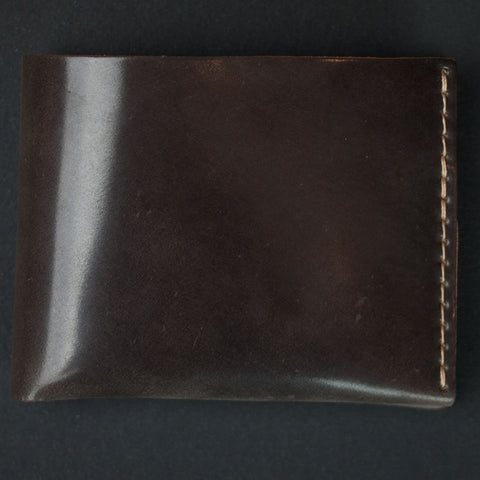 Ezra Arthur Grey Shell Cordovan Billfold Wallet at The Lodge