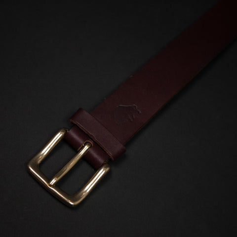 Tan Leather Ezra Arthur Belt at The Lodge
