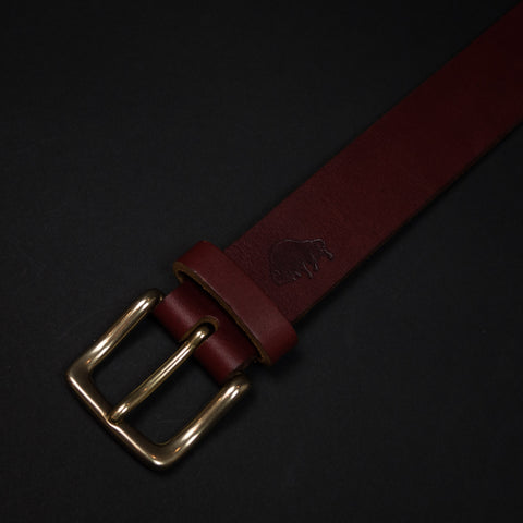 Cognac Leather Ezra Arthur Men's Belt at The Lodge