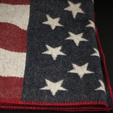 FARIBAULT AMERICAN FLAG WOOL THROW - THE LODGE  - 5