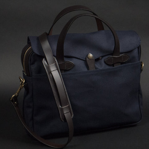 FILSON ORIGINAL BRIEFCASE NAVY - THE LODGE  - 1