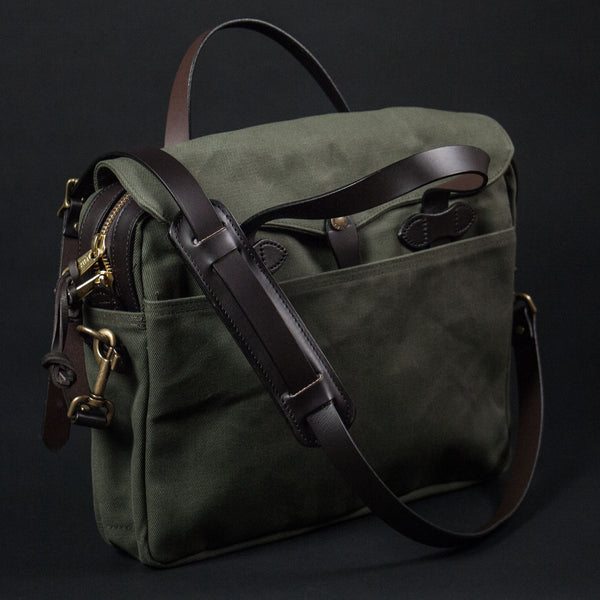 FILSON ORIGINAL BRIEFCASE OLIVE - THE LODGE  - 1