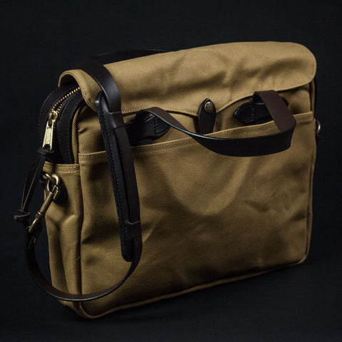 FILSON ORIGINAL BRIEFCASE TAN - THE LODGE  - 1