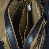 FILSON PADDED LAPTOP BAG TAN - THE LODGE  - 7