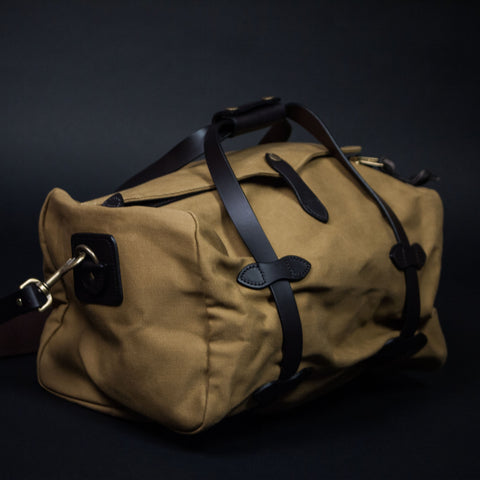 FILSON SMALL DUFFLE BAG TAN - THE LODGE  - 1
