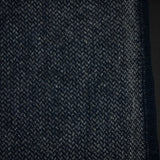 FARIBAULT INK BLUE ASHBY TWILL MERINO WOOL THROW