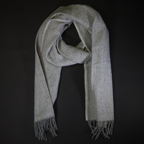 Faribault Natural Twill Ashby Merino Wool Scarf at The Lodge
