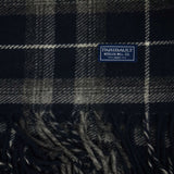FARIBAULT MACALESTER PLAID THROW INK BLUE - THE LODGE  - 2