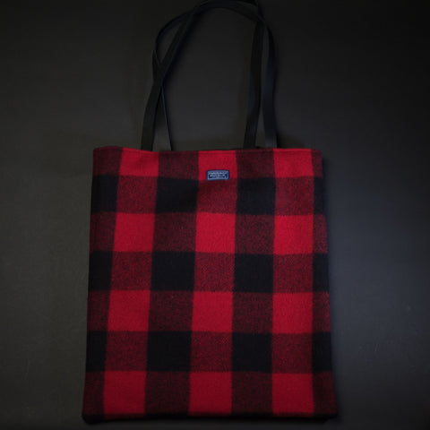 Faribault Woolen Mills 10,000 Lakes Wool Tote at The Lodge Man Shop