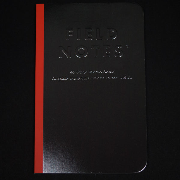 Field Notes Black Ice Notebook 3-Pack at The Lodge