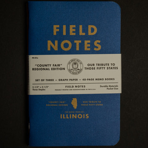 FIELD NOTES-ILLINOIS COUNTY FAIR EDITION - THE LODGE  - 1
