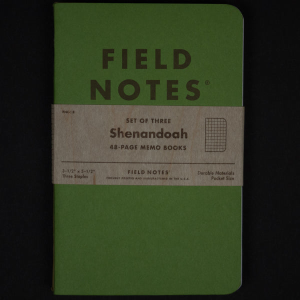 FIELD NOTES SHENANDOAH LIMITED EDITION 3-PACK - THE LODGE  - 1