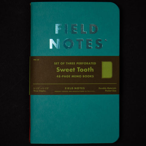 Field Notes Sweet Tooth Notebook at The Lodge
