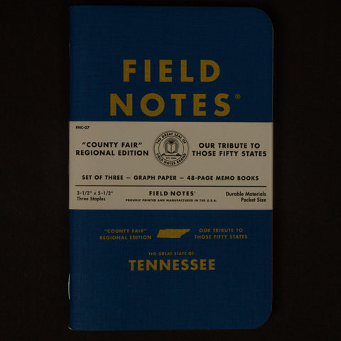 Field Notes Tennessee County Fair Edition at The Lodge