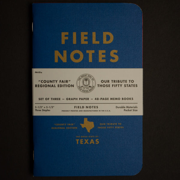 FIELD NOTES-TEXAS COUNTY FAIR EDITION - THE LODGE  - 1