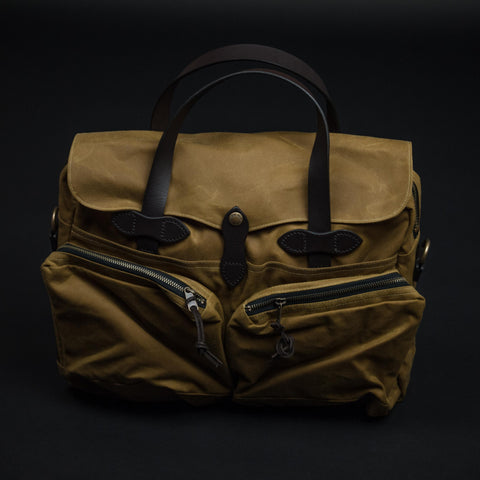 Filson Tan 24-Hour Tincloth Briefcase at The Lodge