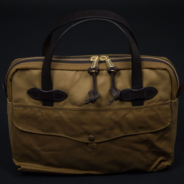FILSON TABLET BRIEFCASE TAN - THE LODGE  - 1