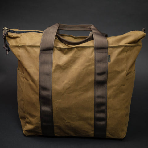 Filson Dark Tan Large Grab N Go Tote at The Lodge