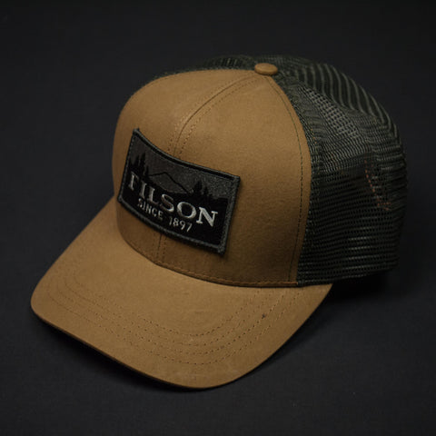 Filson Logger Mesh Cap Tan at The Lodge