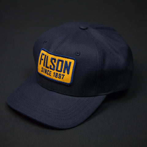 Filson Navy Logger Cap at The Lodge