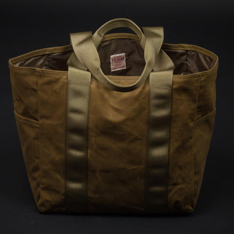 Filson Medium Grab N Go Tote Bag Tan at The Lodge
