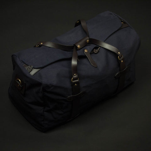 FILSON MEDIUM DUFFLE BAG NAVY - THE LODGE  - 1