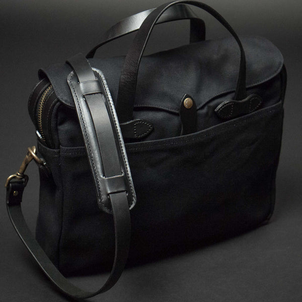 FILSON ORIGINAL BRIEFCASE BLACK - THE LODGE  - 1