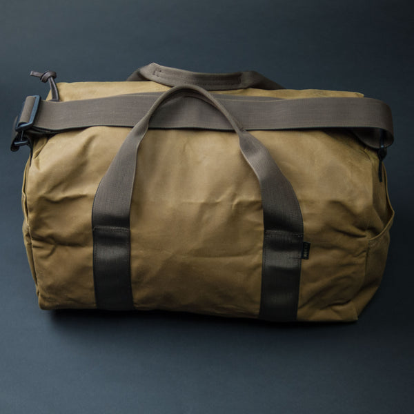 Filson Tin Cloth Field Duffel Small Tan at The Lodge