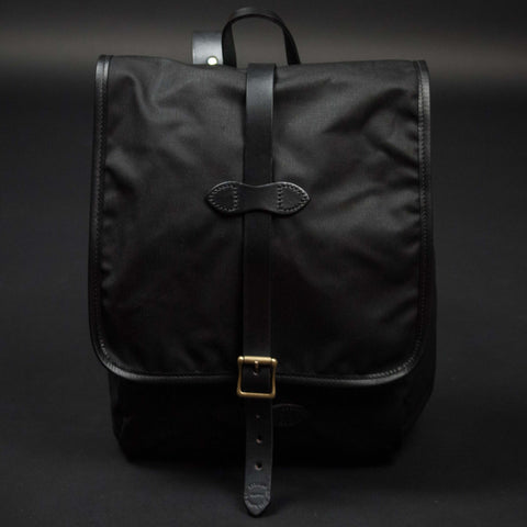 FILSON BLACK TINCLOTH BACKPACK - THE LODGE  - 8